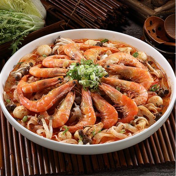 叻沙粉絲鮮蝦 1.5kg