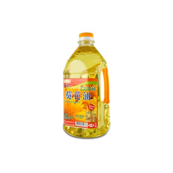 福華牌純100%葵花油 2L